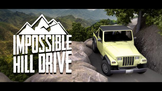 Impossible Hill Drive: Car Simulation 2019 poster