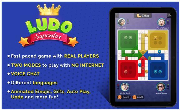 7 Schermata Ludo Game : New(2018)  Ludo SuperStar Game