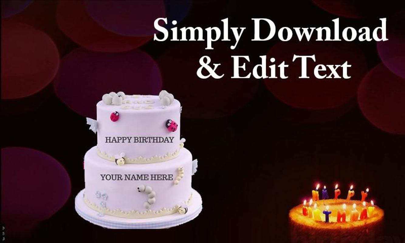 Name On Birthday Cake For Android Apk Download