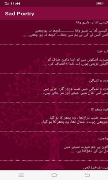 Urdu Poetry-Urdu SMS Collection screenshot 1