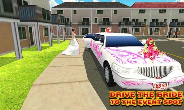City Bridal Limo Car Simulator poster