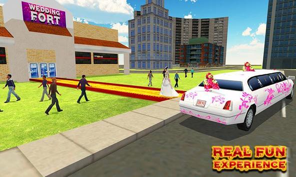 City Bridal Limo Car Simulator screenshot 1