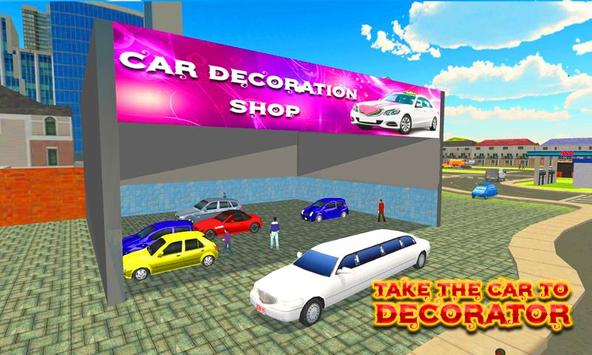 City Bridal Limo Car Simulator screenshot 2