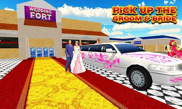 City Bridal Limo Car Simulator screenshot 3