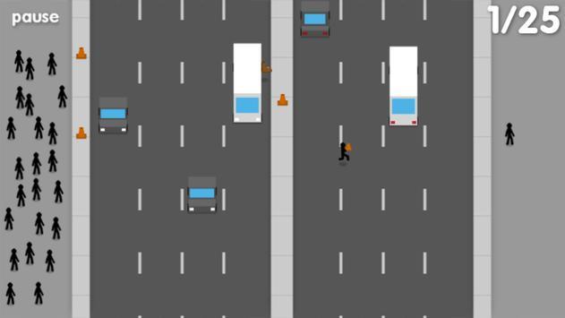 Jaywalking Stickman screenshot 4