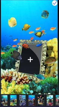 Box Photo Picture Frame Aquarium Collage Wall poster