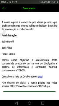 AndroidGeek.pt screenshot 4