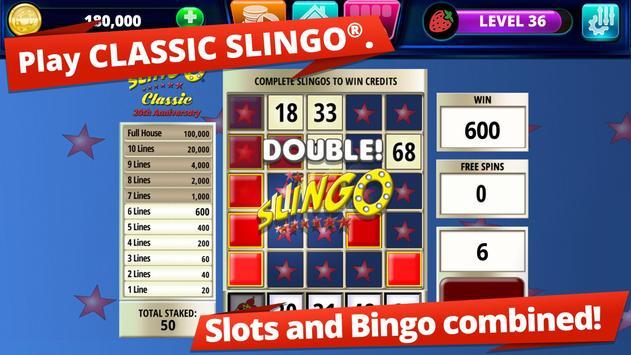 Slingo Arcade screenshot 1