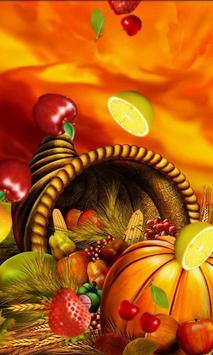 Free Fruits Live Wallpaper screenshot 2