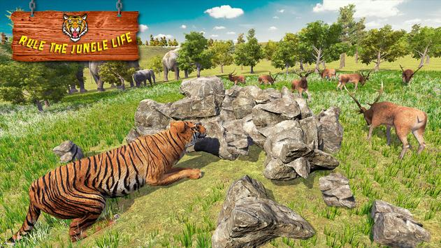 Ultimate Tiger Family Wild Animal Simulator Games скриншот 3