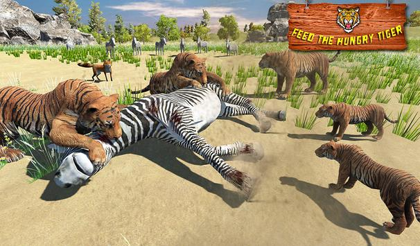 Ultimate Tiger Family Wild Animal Simulator Games скриншот 10