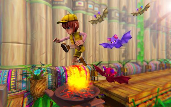 Stickman Ninja Kid Jungle screenshot 16