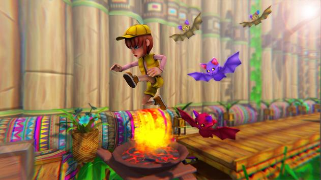 Stickman Ninja Kid Jungle screenshot 4