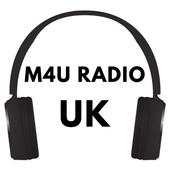 M4U Radio App Player UK Live Free Online icon