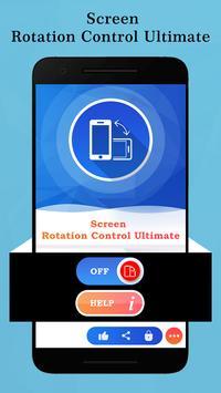 Screen Rotation Control Ultimate screenshot 1
