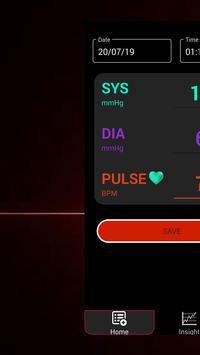 Blood Pressure Diary : BP Checker Logger Tracker screenshot 4
