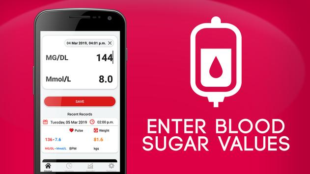 Blood Sugar Check Diary:For Diabetes Patient for Android - APK Download