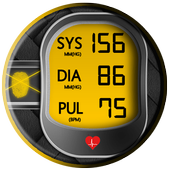 Blood Pressure Monitor : Scan Check Test Log icon
