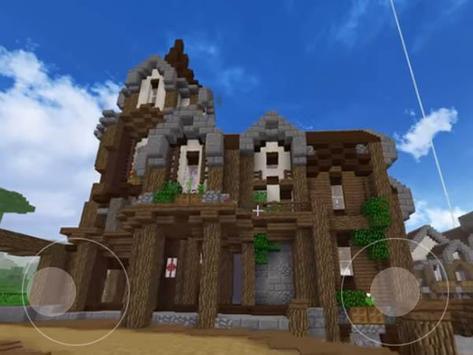 block craft 3D World Fantasy Simulator Free poster