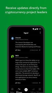 Blockfolio screenshot 2