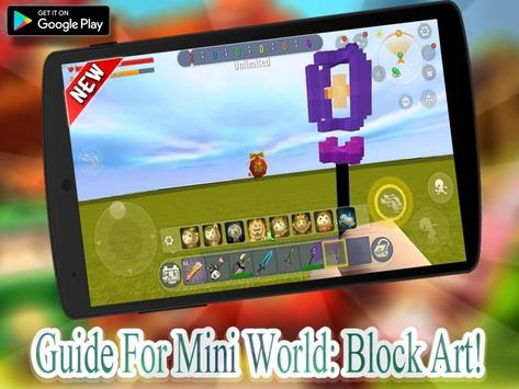 Guide Mini World Block craft 2020 ポスター