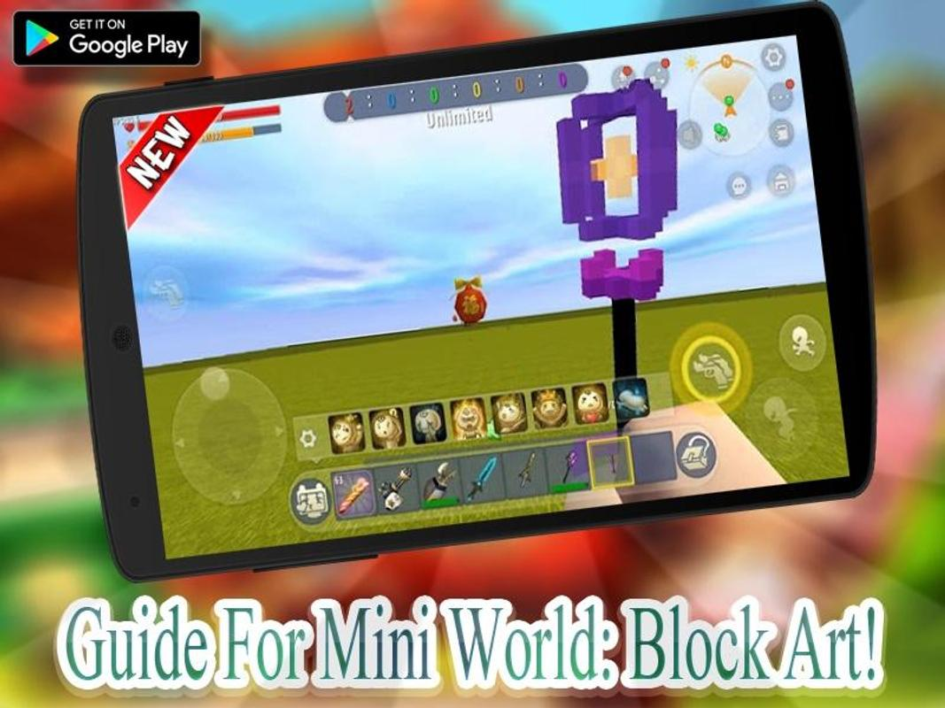Guide Mini World Block craft 2020 poster