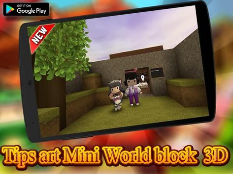 Guide Mini World Block craft 2020 スクリーンショット 1