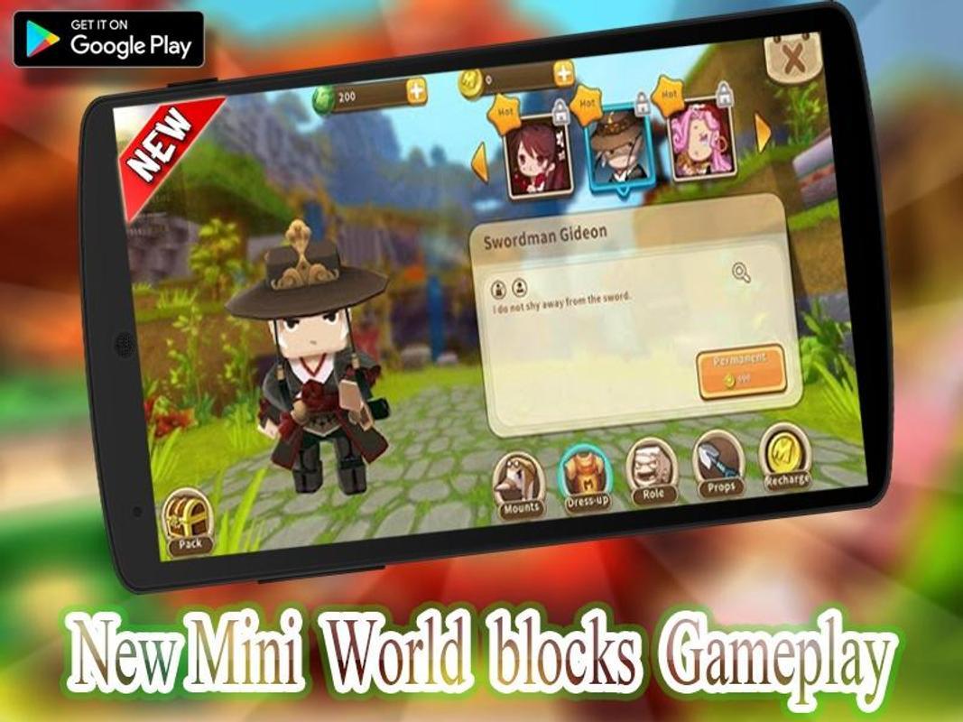 Guide Mini World Block craft 2020 screenshot 2