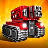 Blocky Cars - Trò chơi Xe tăng biểu tượng