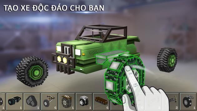Blocky Cars - Trò chơi Xe tăng ảnh chụp màn hình 16