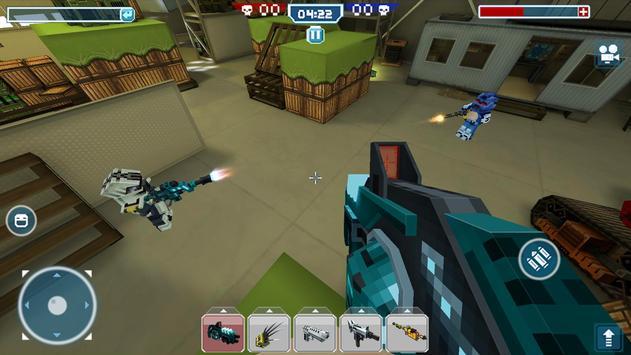Blocky Cars - Trò chơi Xe tăng ảnh chụp màn hình 13