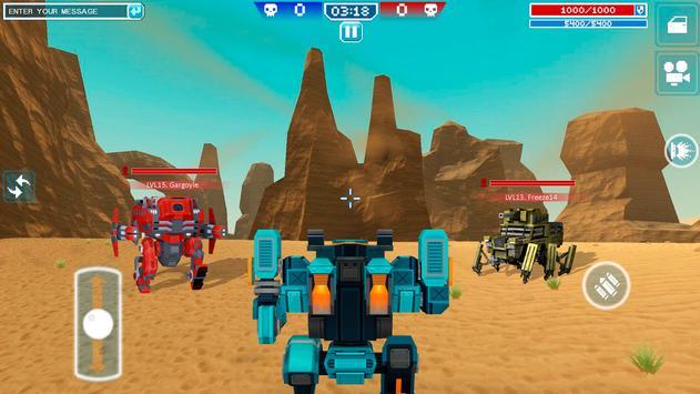 Blocky Cars - Trò chơi Xe tăng ảnh chụp màn hình 10