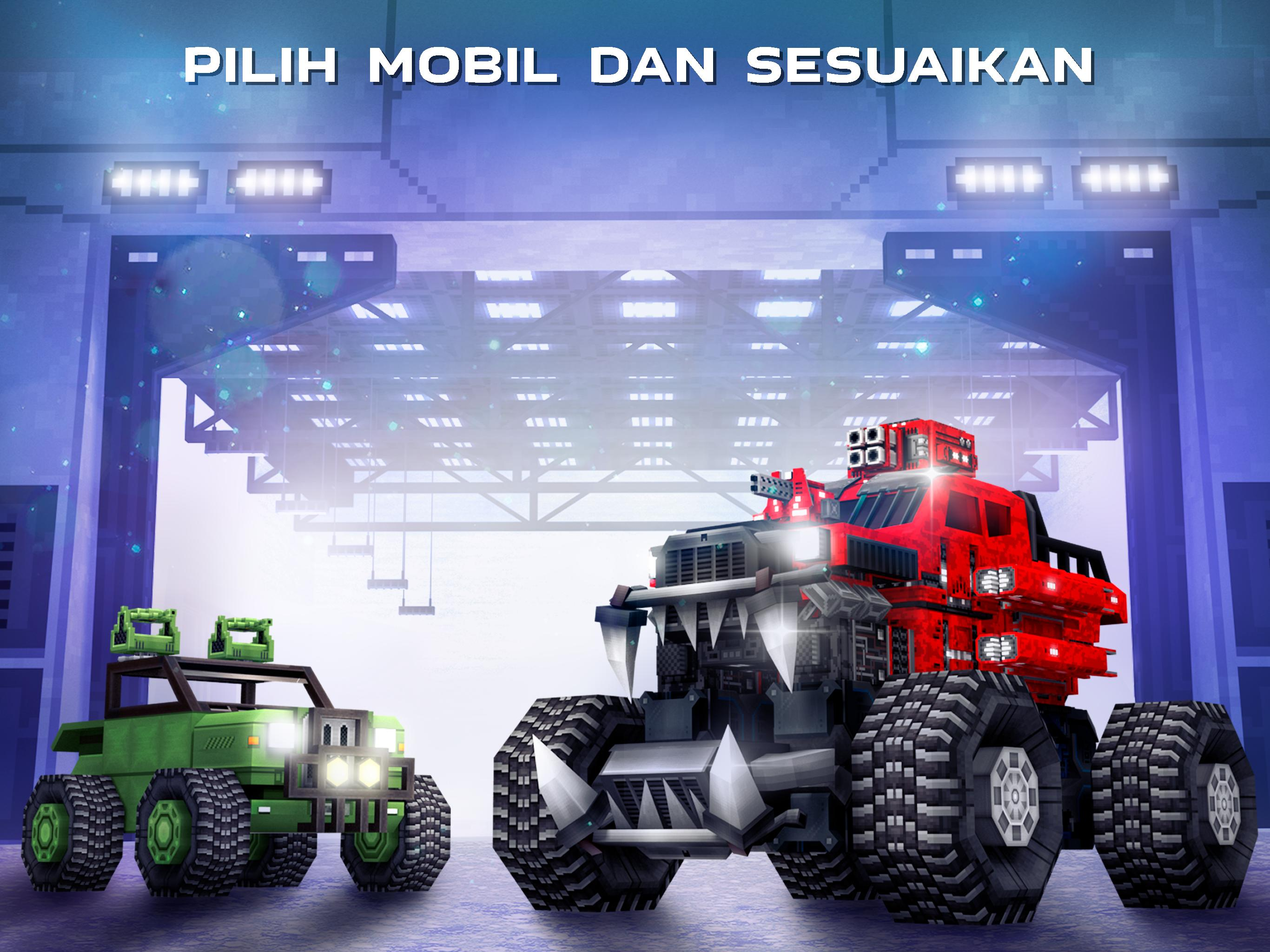 Cars On Line >> Blocky Cars Online Games Tank For Android Apk Download