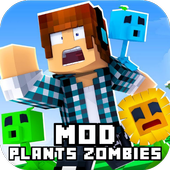 Mod Plants vs. Zombies [For MCPE] ikona