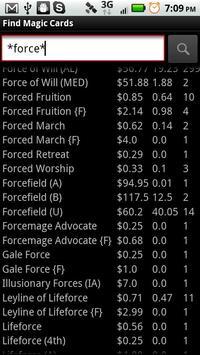 MtG Trader screenshot 2