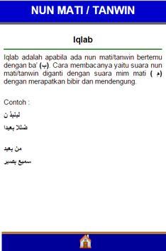 Hukum Ilmu Tajwid screenshot 2