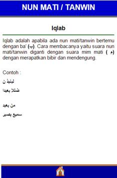Hukum Ilmu Tajwid screenshot 8