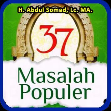 Kitab 37 Masalah Populer Ustadz Abdul Somad poster