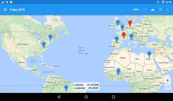 Fake GPS Ekran Görüntüsü 18