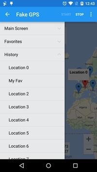 Fake GPS Ekran Görüntüsü 3