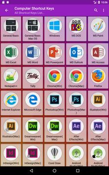 Computer Shortcut Keys screenshot 17