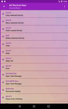 Computer Shortcut Keys screenshot 19