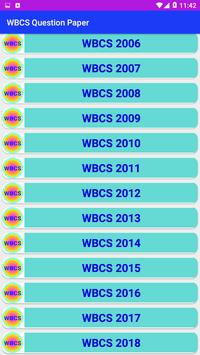 WBCS Question Paper screenshot 5
