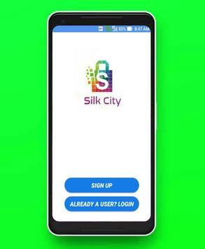 SILK CITY poster