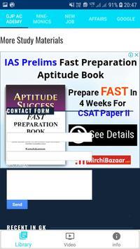 GJP Academy Exam Preparation 2019 App Study Notes screenshot 14