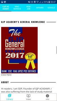 GJP Academy Exam Preparation 2019 App Study Notes screenshot 9
