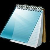 Notepad icono