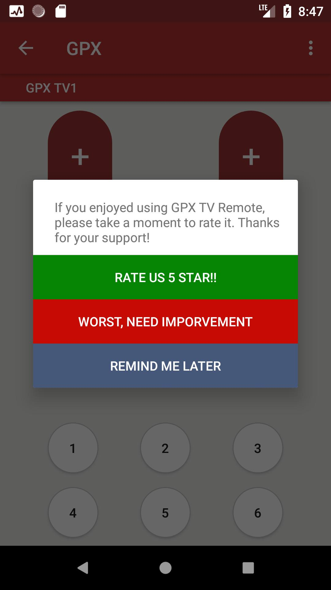 GPX TV Remote for Android - APK Download