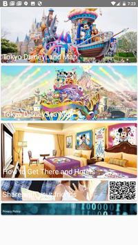Tokyo DisneyLand, DisneySea Map Offline 東京ディズニーマップ poster