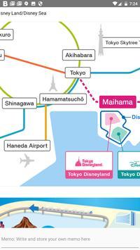 Tokyo DisneyLand, DisneySea Map Offline 東京ディズニーマップ screenshot 3